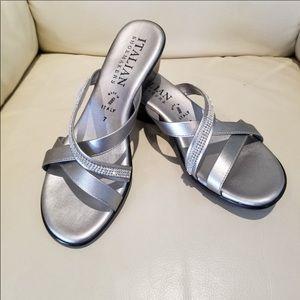 Beautiful Silver Sandals